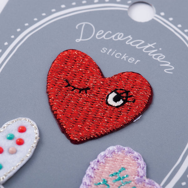 Embroidery Sticker - Heart