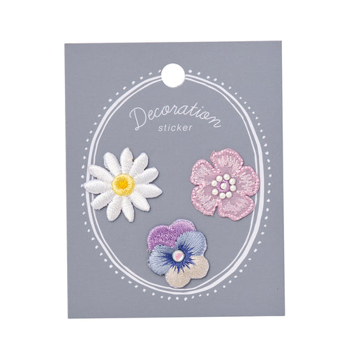Embroidery Sticker - Flower