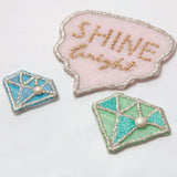 Embroidery Sticker - Diamond