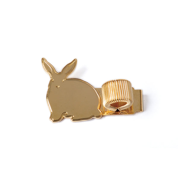 Metal Pen Holder - Bunny