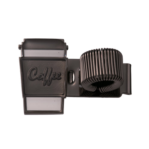 Metal Pen Holder - Coffee