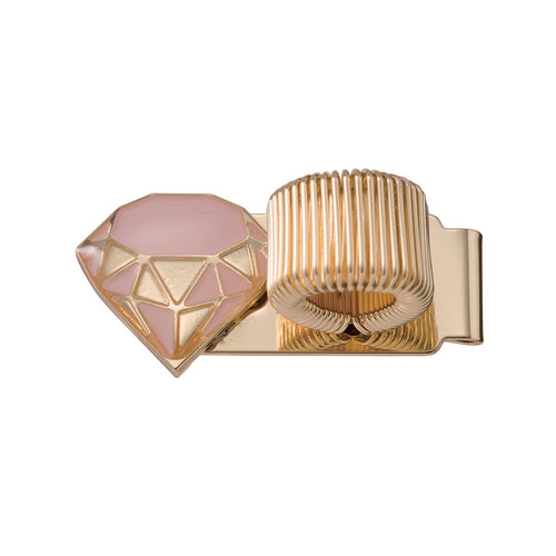 Metal Pen Holder - Diamond Pink