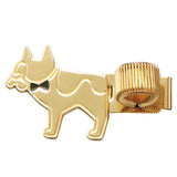 Metal Pen Holder - Dog w Bow tie