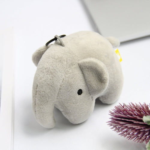 Miffy Elephant Plush Keychain