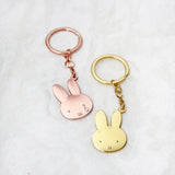 Miffy Gold Badge Keychain