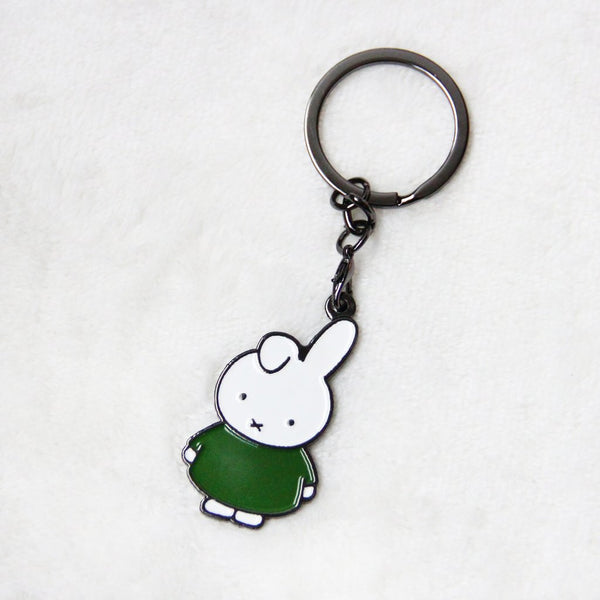 Miffy Green Badge Keychain