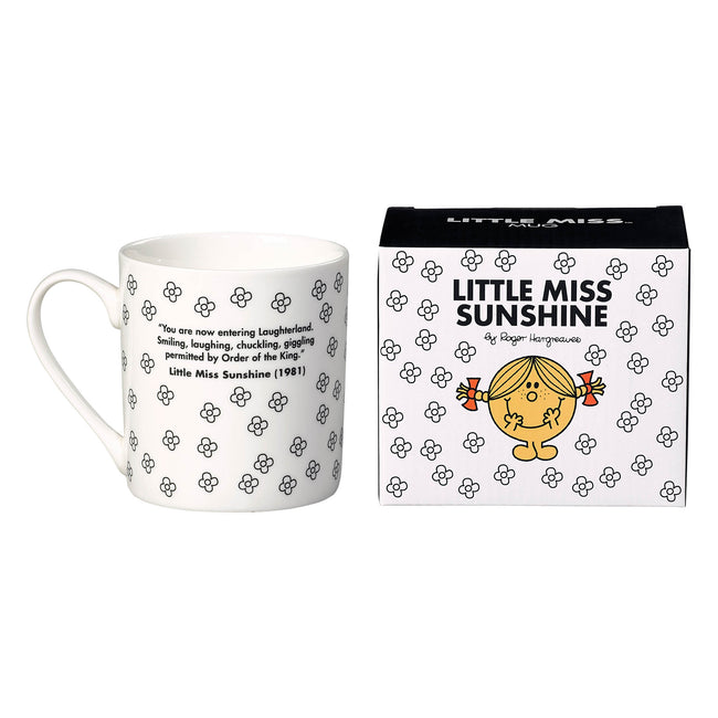 Little Miss Sunshine Mug (B&W)