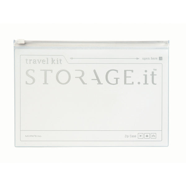 STORAGE.It Zip Case - White