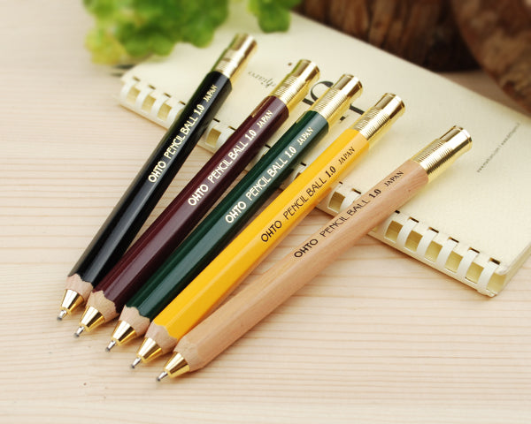 OHTO Pencil Ball 1.0 - Yellow