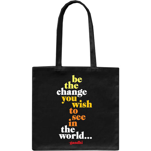 Tote Bag - Be the change you wish