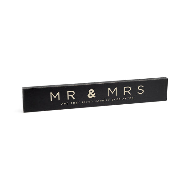 Rough Signs- Mr & Mrs