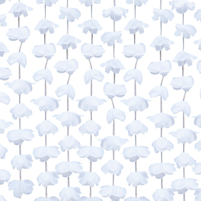 White Floral Backdrop