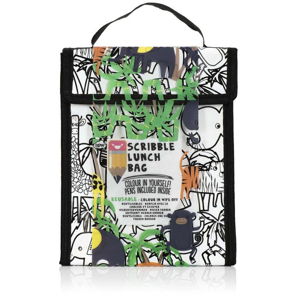 Scribble Lunch Bag