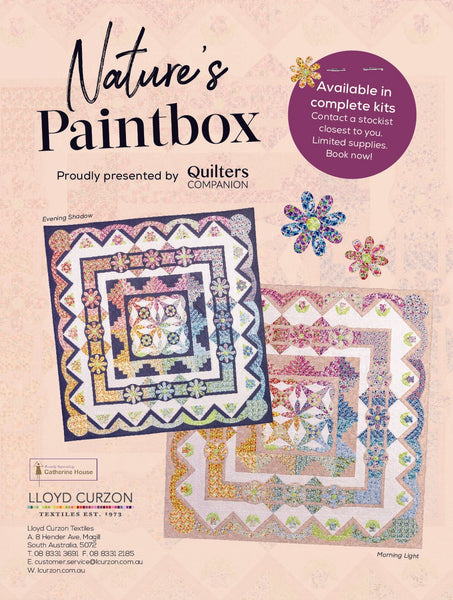 Nature's Paintbox - Quilters Companion Block of the Month