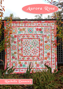 Aurora Rose Quilt Book Pattern/ Template BUNDLE