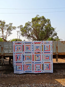 Around the Block  quilt by Rachelle Denneny