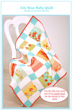Lily Rose Baby Quilt Pattern PDF Download
