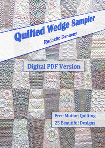 Quilted Wedge Sampler Book  PDF Download