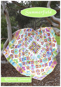 Cover Summerfield Quilt pattern book.