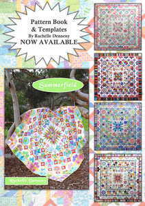 Summerfield Quilt Pattern and Templates now available