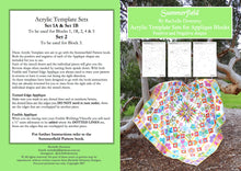 Summerfield Quilt Companion Template Set