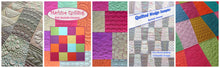 Course Bundle - Lets Begin Machine Quilting & The Quilted Wedge Sampler