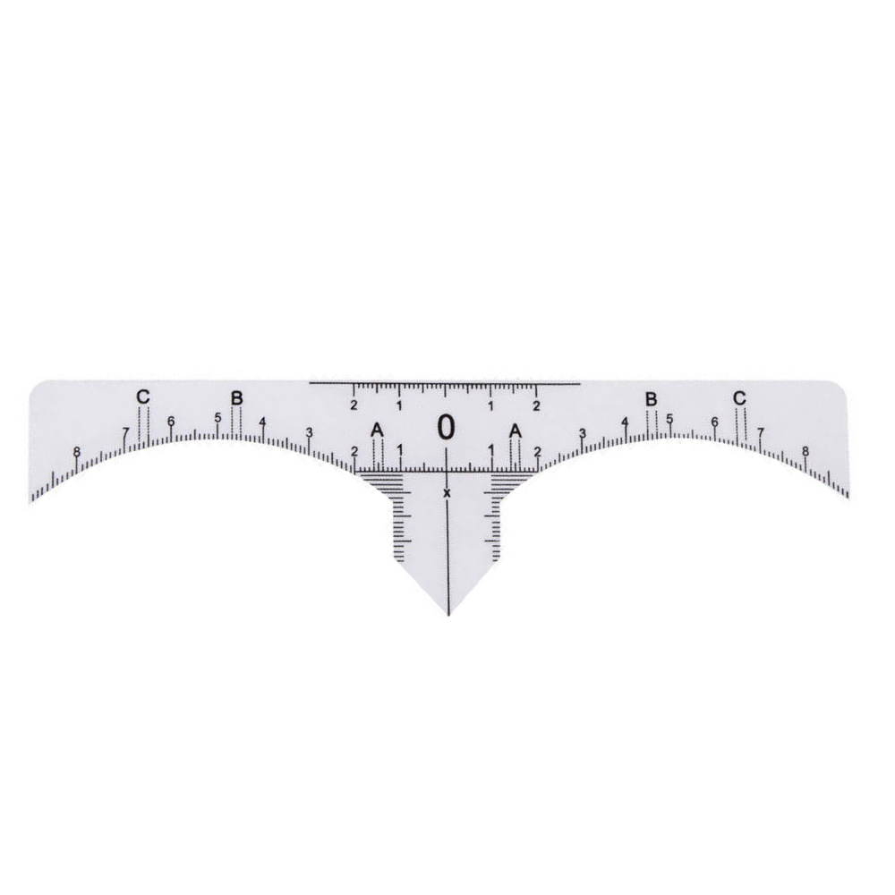 Brow Sticker Ruler