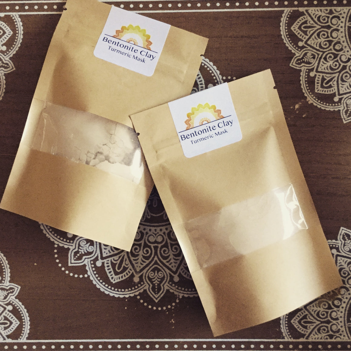 Bentonite Clay & Turmeric Face Mask 50g (6 masks)