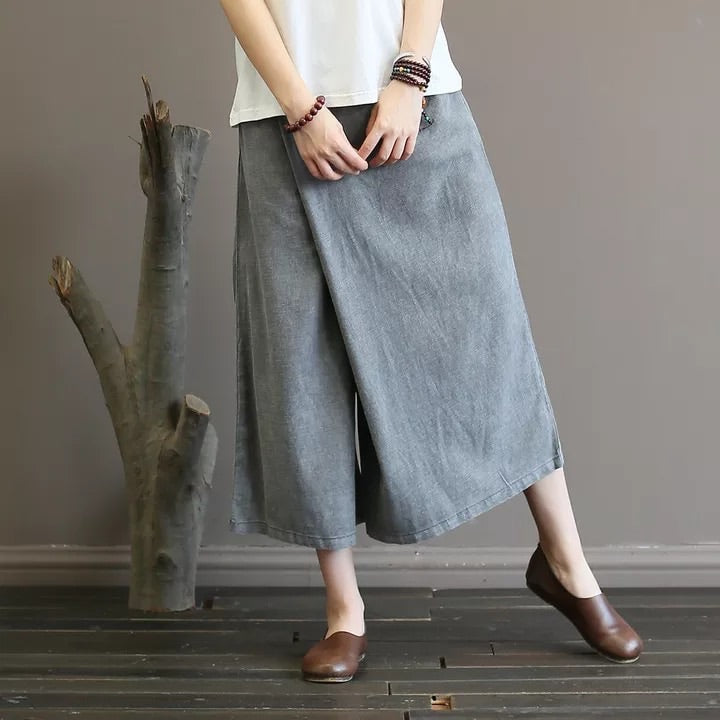 Grey Funky Loose Pants - One Size