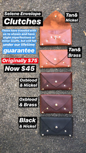 SELENE WALLET CLUTCH - SAMPLE SALE