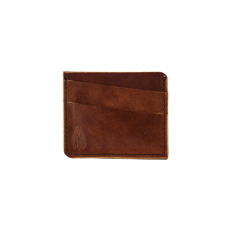 GALLIS (5 POCKET SLIM WALLET) - COGNAC