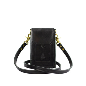 ONE SLING (STUDDED) - Black & Brass