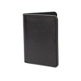 VENTURE PASSPORT WALLET - BLACK