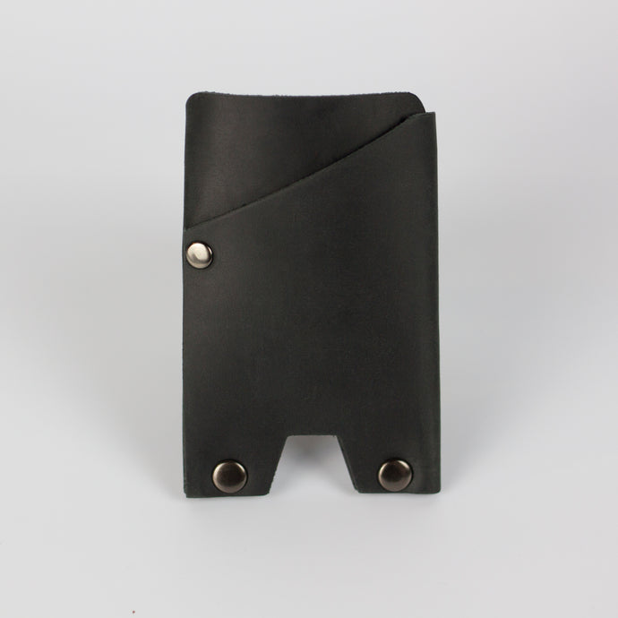ATLAS CARD WALLET - BLACK & GUNMETAL
