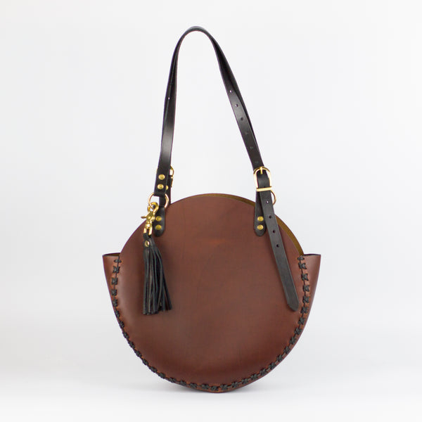 HYPERION SHOULDER BAG - Oxblood
