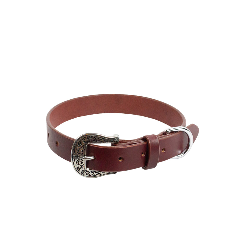 LYRA COLLAR - Oxblood