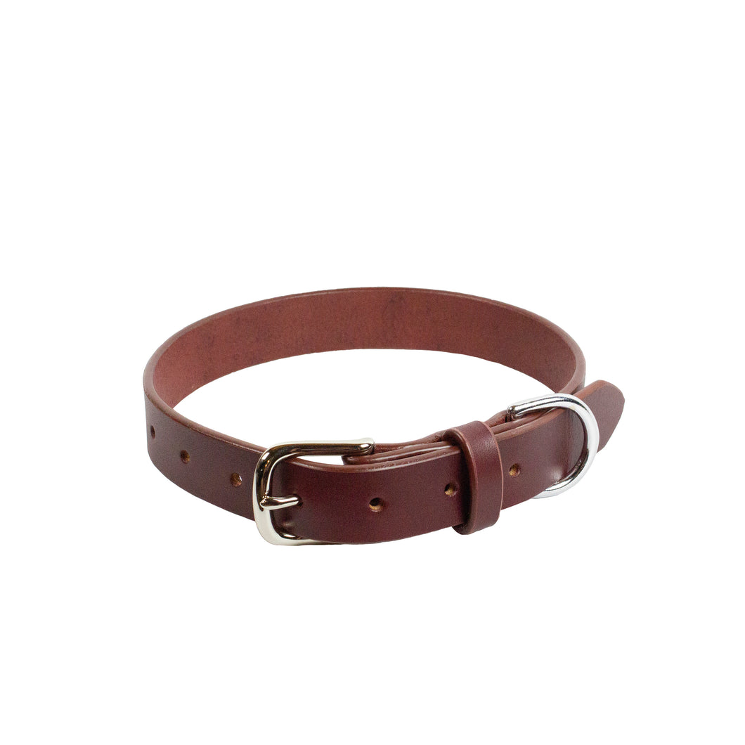 DANTE COLLAR - Oxblood & Nickel