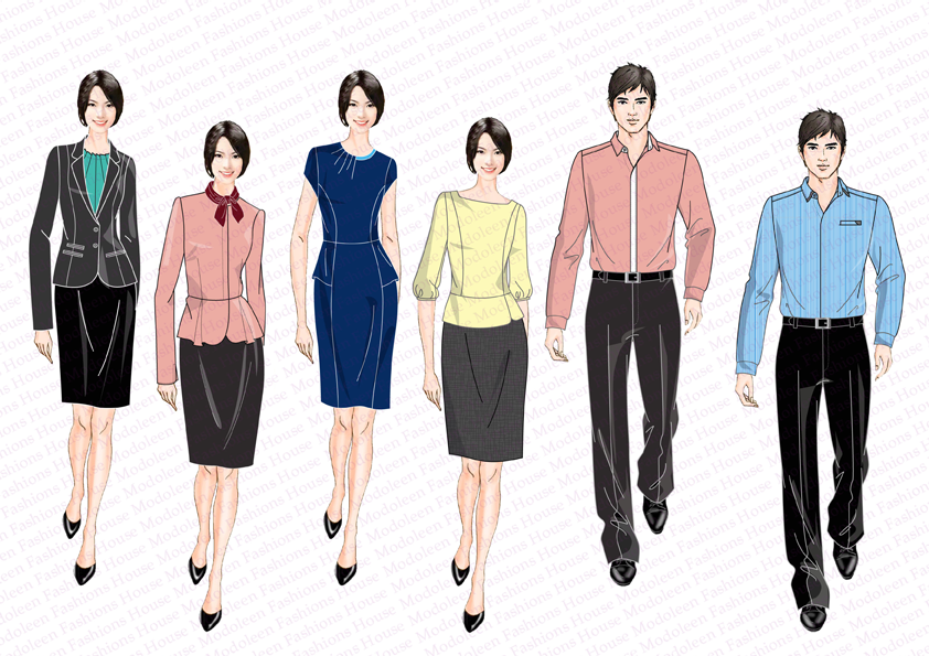 Modoleen Executive And Customer Service Uniform Supplier