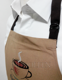 F&B apron with customized print