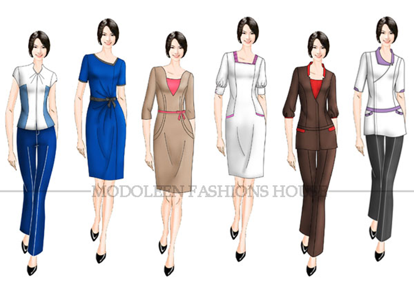Beauty salons and Aesthetic clinic uniforms