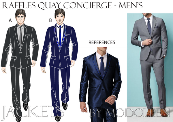 Men's Concierge Design Proposal