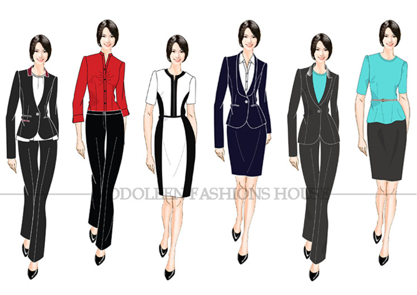 Uniforms for sales executives and corporate offices