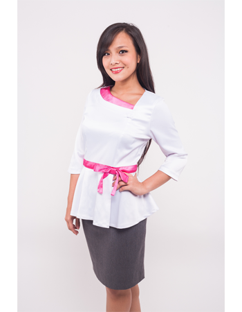 Uniform customization for corporate events over 25 years experience modoleen - Shiseido singapore office ...