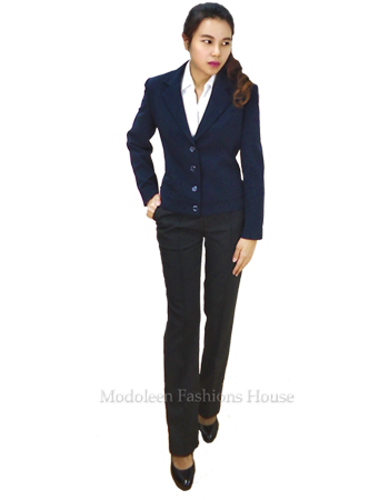 Ladies 4-button blazer -Estee Lauder