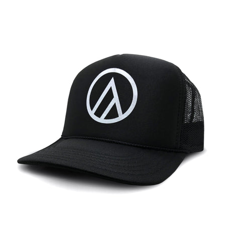 Aspect Black Snap Back Hat