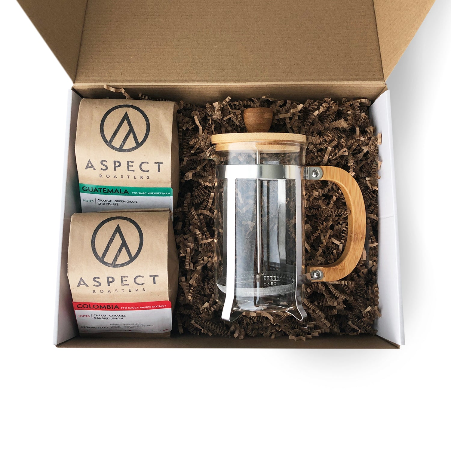 Aspect French Press Gift Set