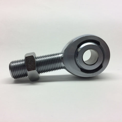 High Misalignment - Male Chromoly Steel 2 piece Rod End - Imperial - Differing ball and thread size