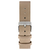 Sand - Leather Strap 20mm