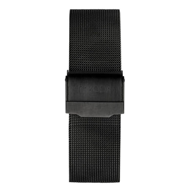 Gun Metal - Mesh Strap 20mm