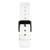 White - Leather Strap 20mm